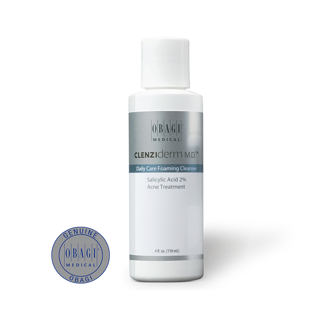 OBAGI CLENZIDERM M.D DAILY CARE FOAMING CLEANSER x 118 ML