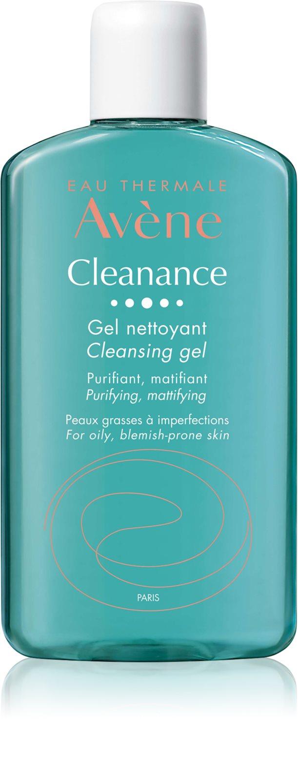Gel de curatare pentru ten gras cu tendinta acneica Cleanance, 200 ml, Avene